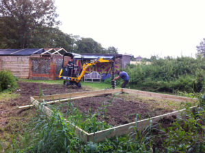Digging in the foundations for the Farmhouse Sessions festival Main Stage