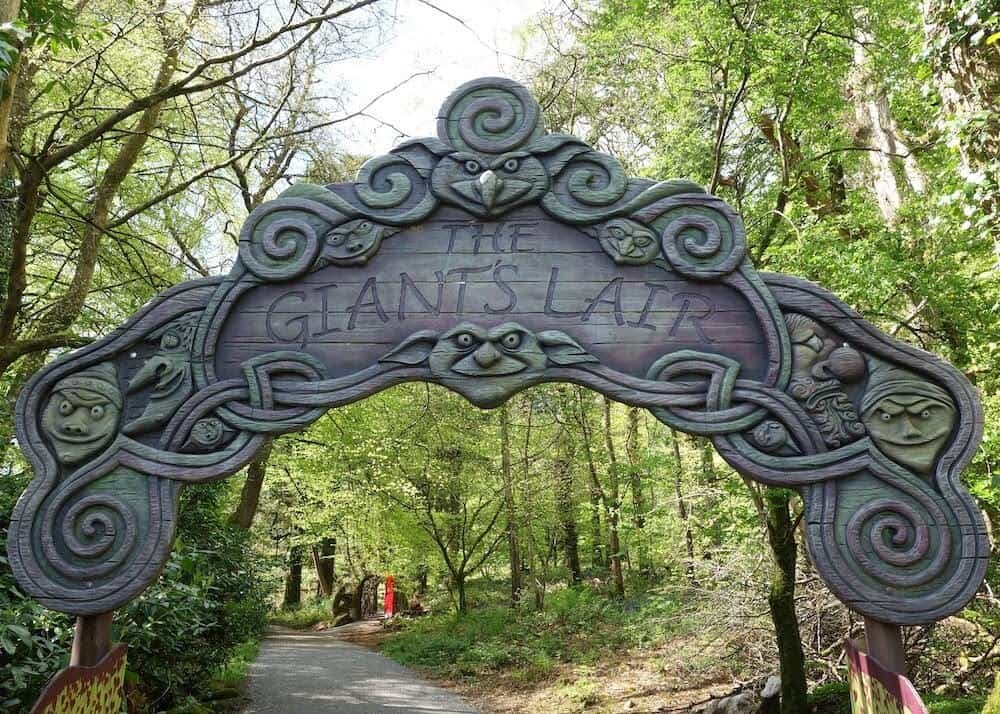 The entrance to the Giants Lair