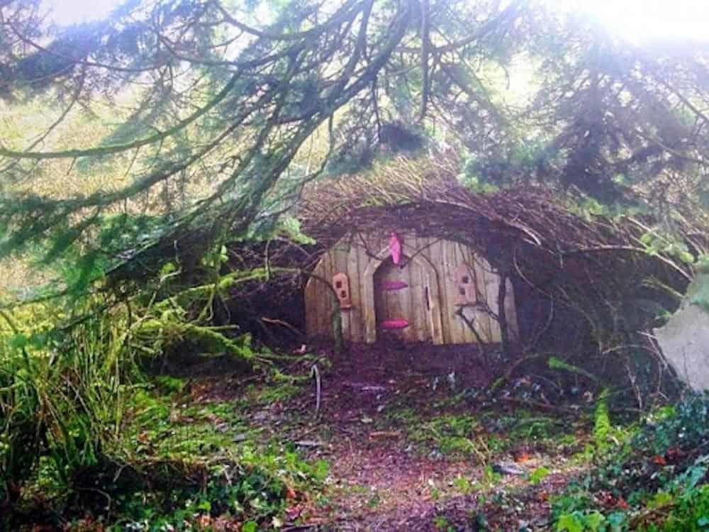 Finished Fairy House at Slieve Gullion