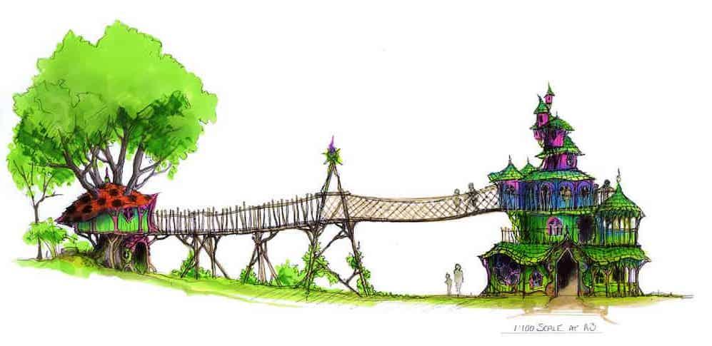 Giants castle Scaled colour image