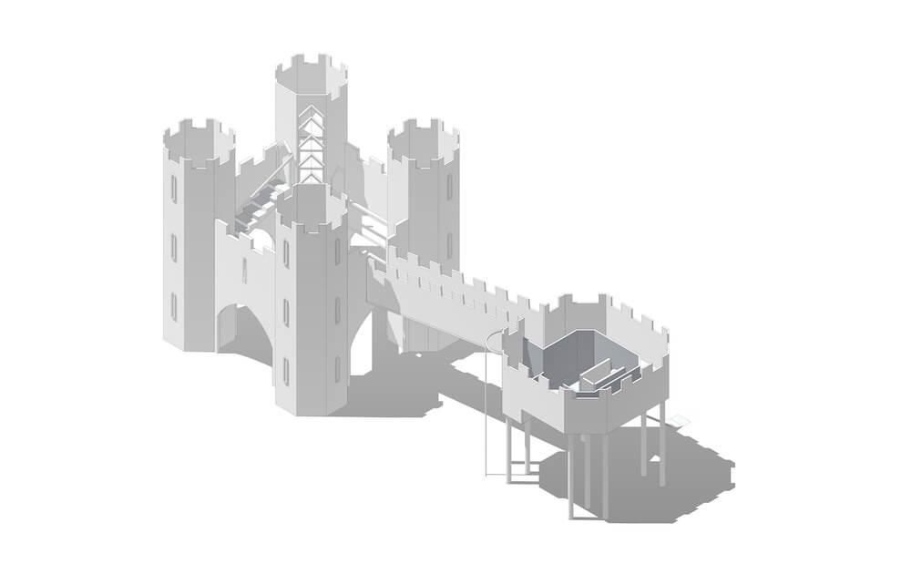 Leeds castle Perspective