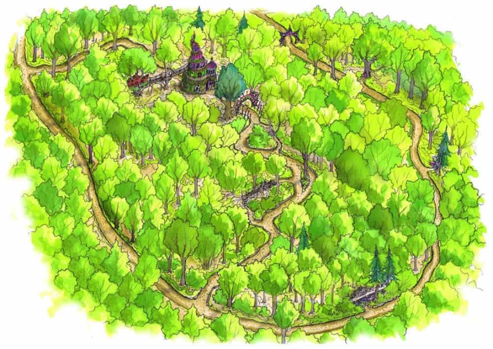 Fairy kingdom birdseye colour