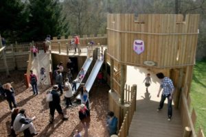The Knights Realm at Leeds Castle has been popular since the day it opened