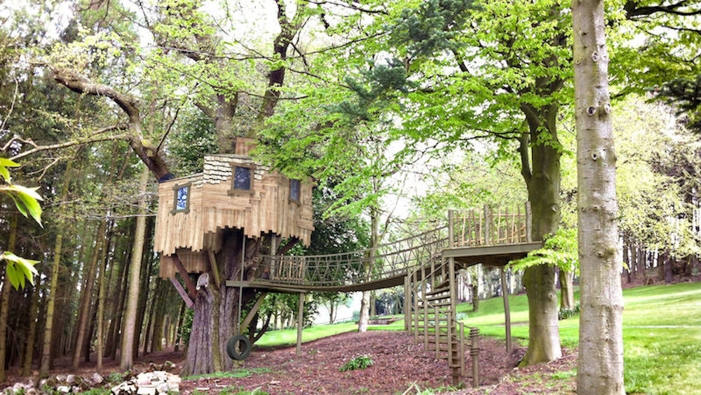 Mount St John residential treehouse design and build