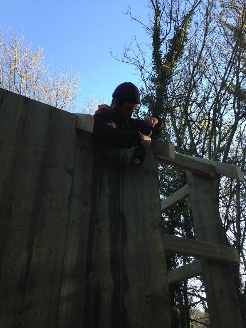 It takes some serious concentration to get the finish we're looking for at Culzean Wild Woodland
