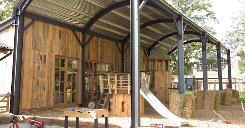 Soho farmhouse barn play