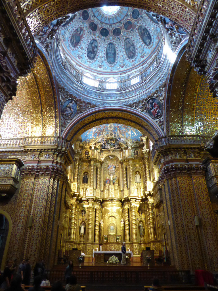 When Ecuador do grand churches, they do them well