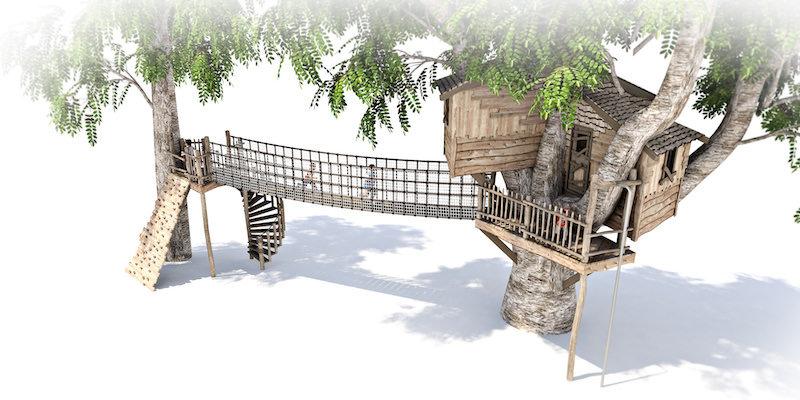 Mount St John residential treehouse visual 3