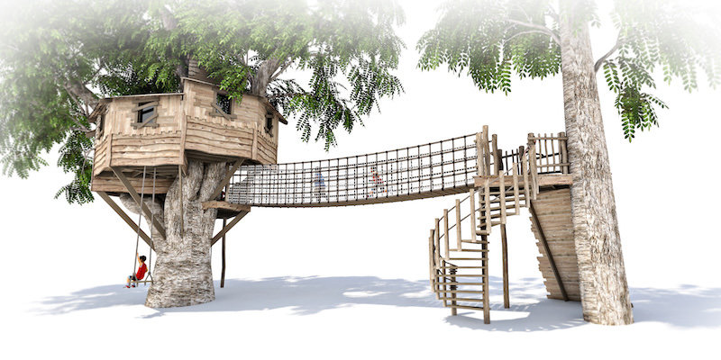 Mount St John residential treehouse visual 5