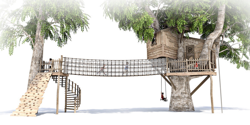 Mount St John residential treehouse visual 6