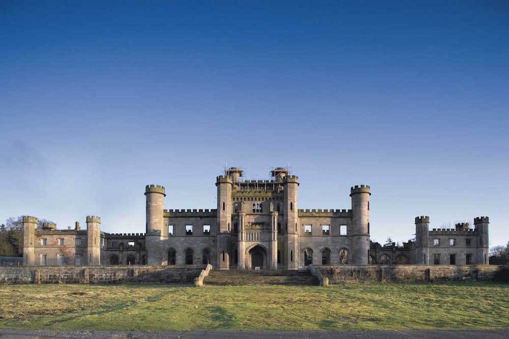 Lowther Castle in all it's glory