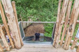 Huge slide at Brodick Castle Isle Be Wild Adventure Play Arran