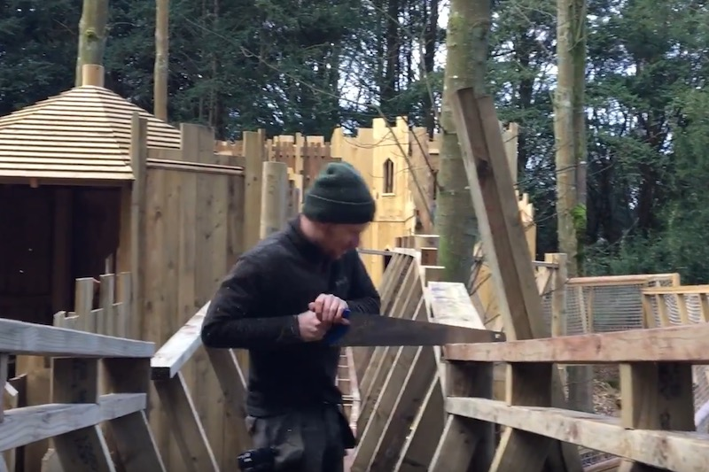 A day in the life of a Treehouse Builder