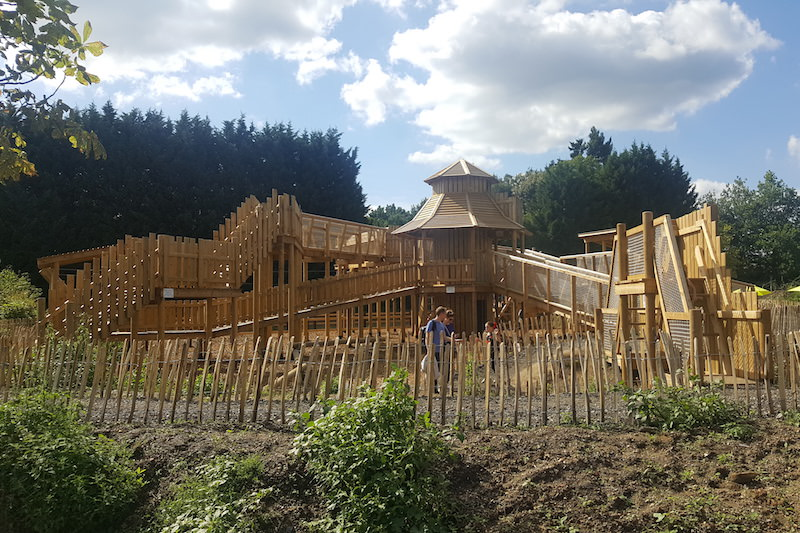 The Adventure Play at Chobham Adventure Farm by Creating Adventurous Places CAPCo
