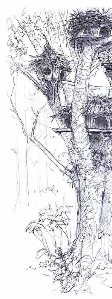 Treehouse Accommodation side image