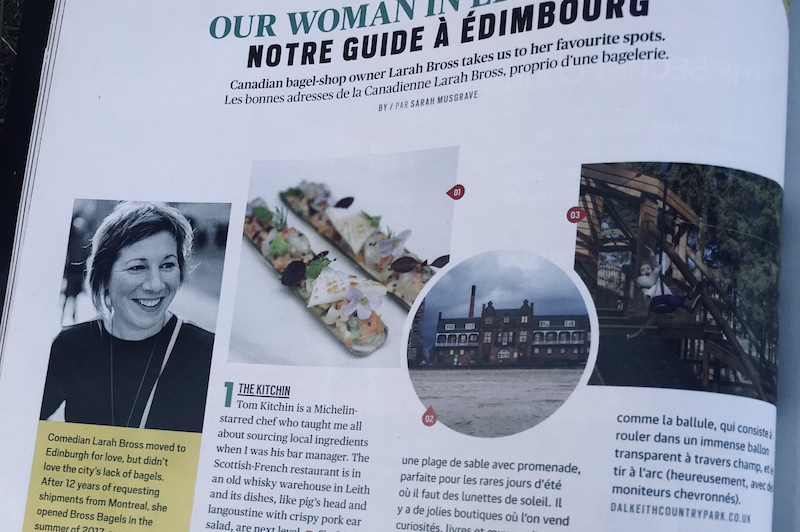 Dalkeith featured in Air Canada magazine Lead image