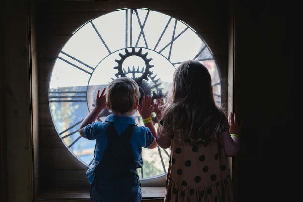 Climb inside a clock to play at Newhailes