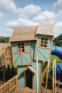 Play inside the wonky house at Newhailes