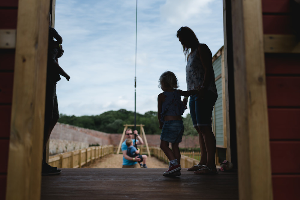 Will you be brave enough to take the zipwire at Newhailes adventure play by CAP.Co