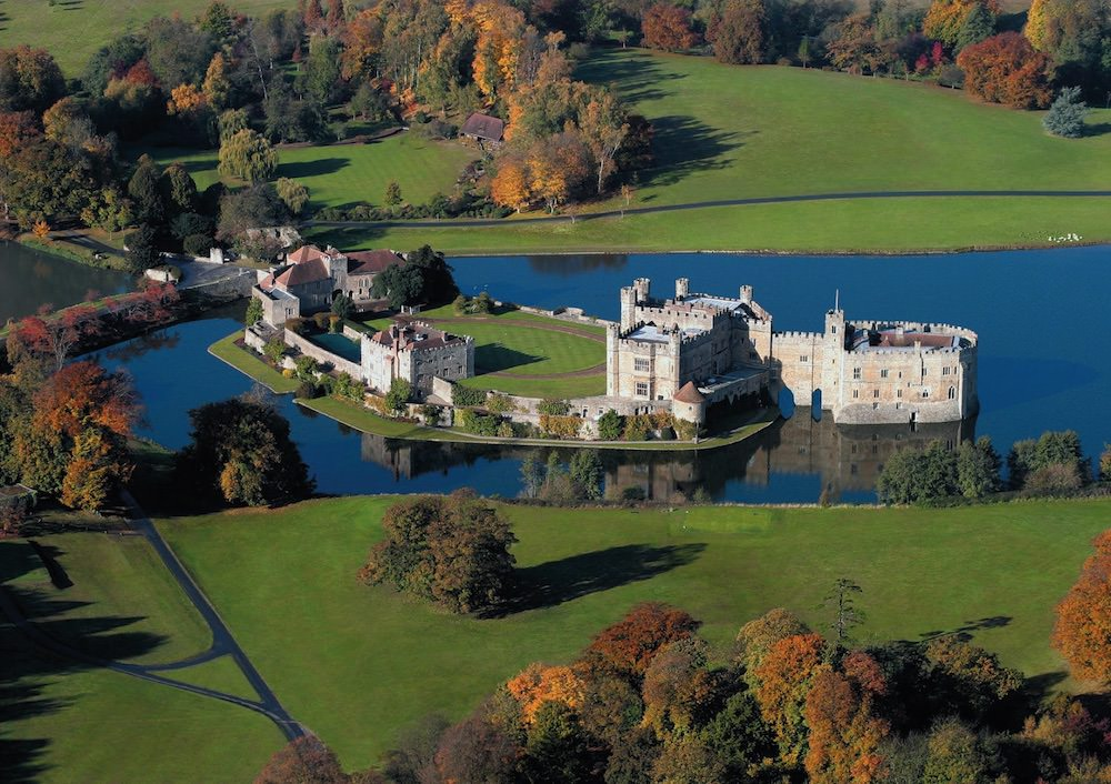 Leeds Castle Adventure Play Aerial View
