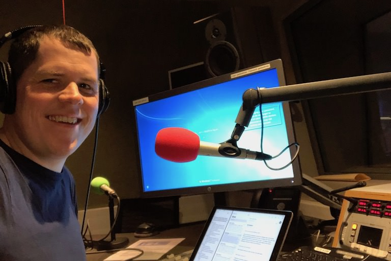 Steve Vass at BBC Radio Scotland