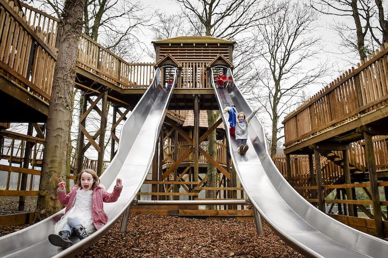 The Adventure Play at Fort Douglas Dalkeith Country Park by CAP.Co lead image