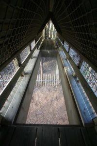 Do you dare walk over the bridge with no floor-