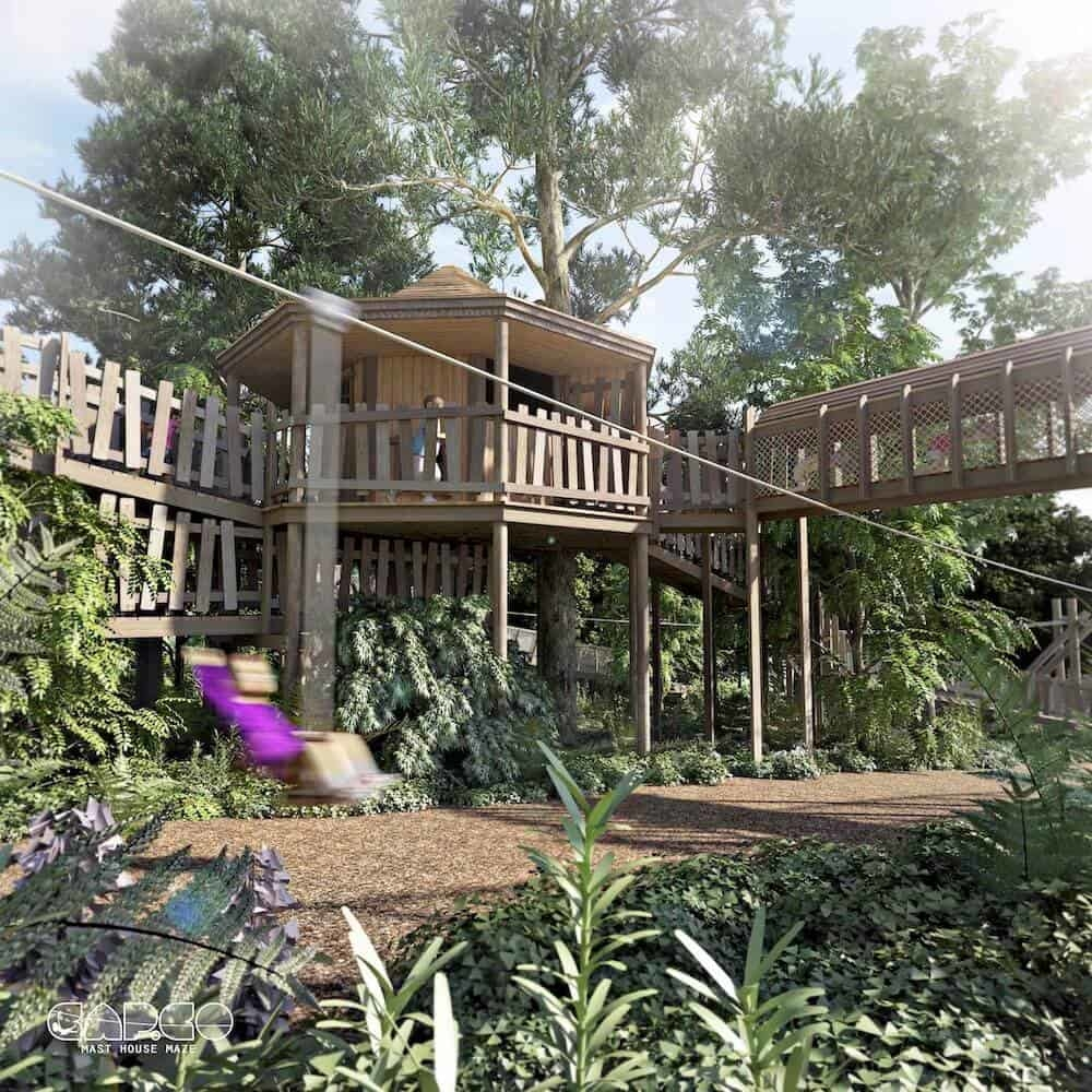 Culzean Castle Phase 2 Teaser for Wild Woodland Linked Play