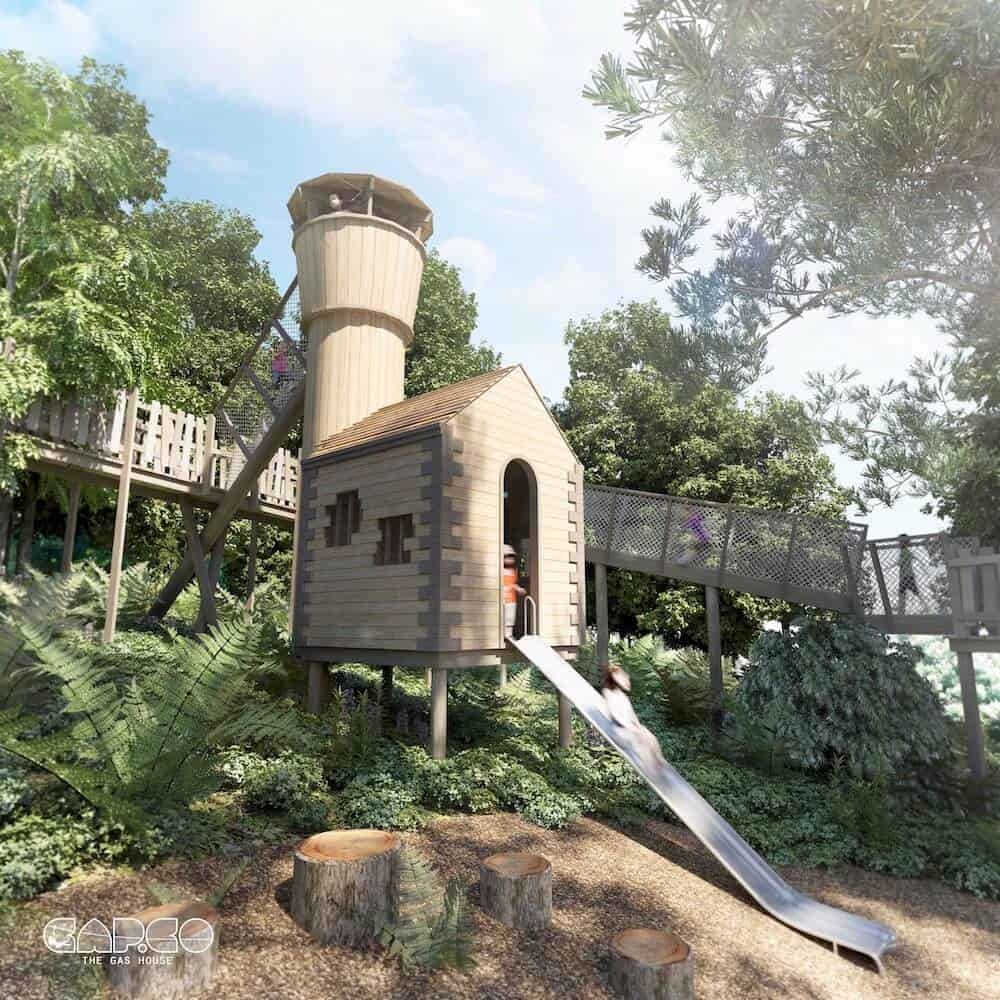 Culzean Castle Phase 2 Teaser for Wild Woodland Tower and Slide