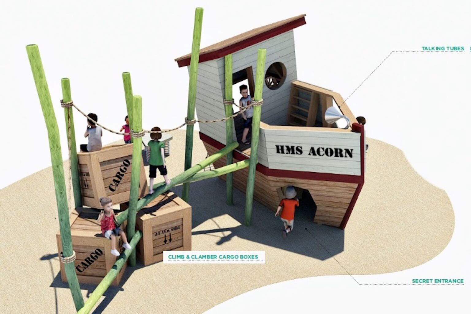 The Plan for HMS Acorn