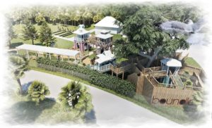 Artists impression of the planned accessible play at Boundless