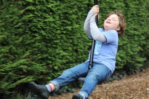 ..And the face on this child on the zip wire says it all really