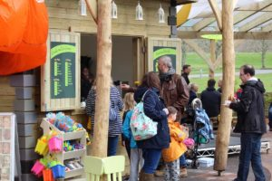The food and drink from the new Little Beaulieu cafe was very popular