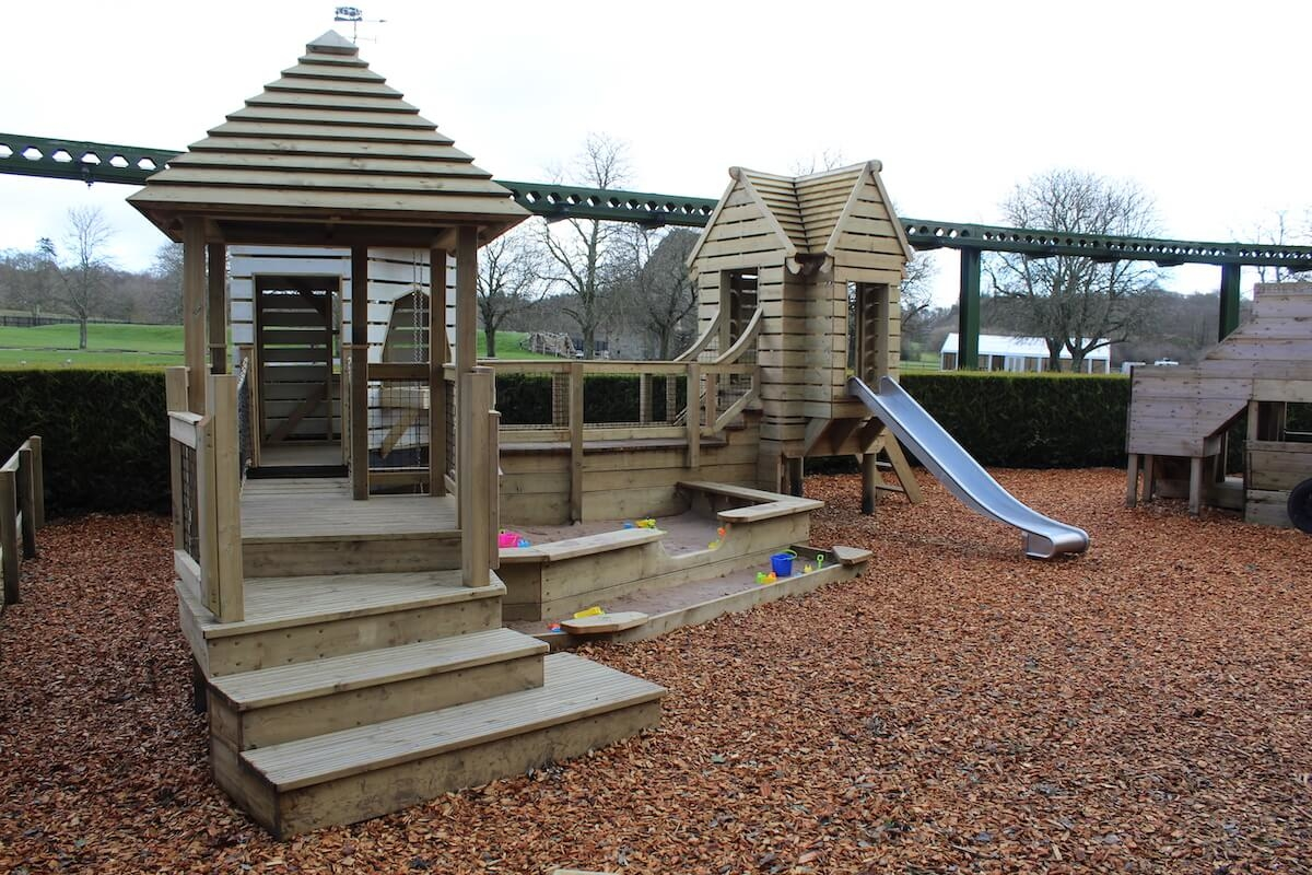 New Toddler play at Little Beaulieu in Hampshire