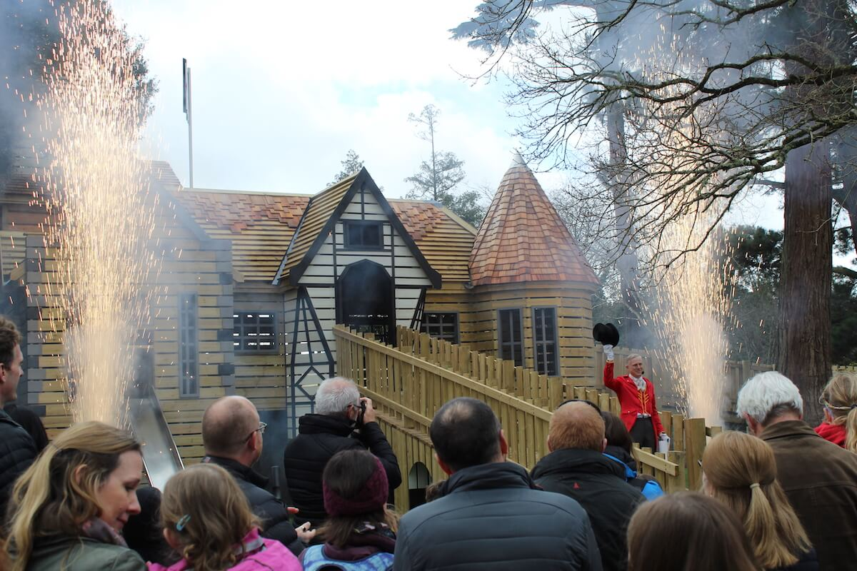 And the pyrotechnics mark Little Beaulieu as open