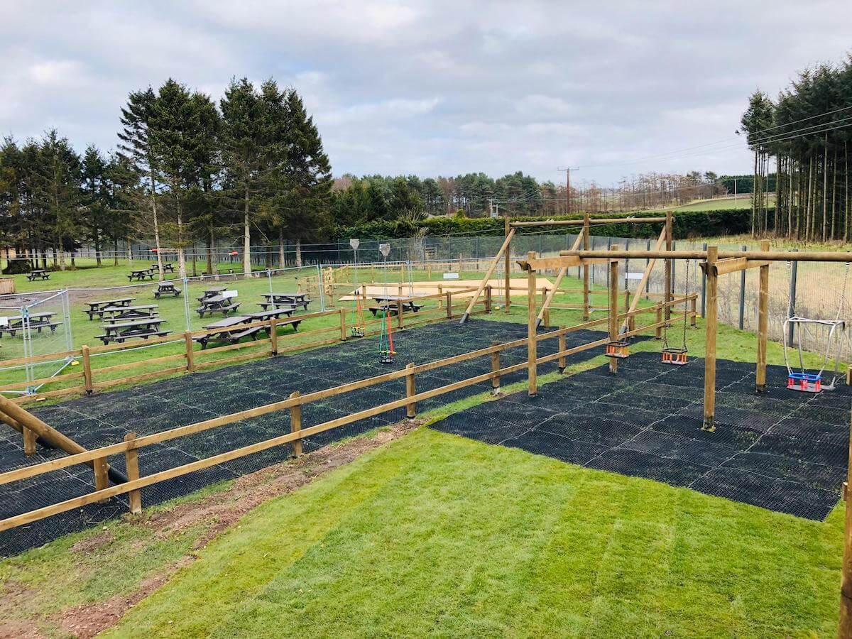 CAPCo Dalkeith Fort Douglas Mini Maze toddler play