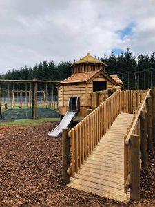 CAPCo Dalkeith Fort Douglas Mini Maze toddler play