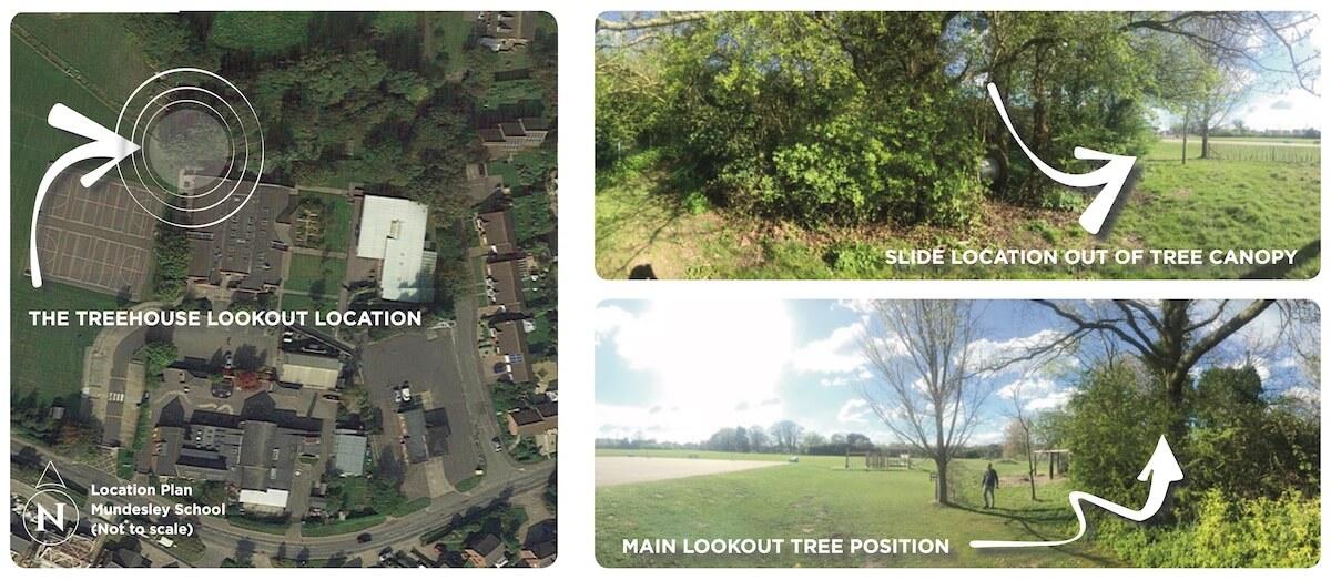 Mundesley School Secret Treehouse Plan