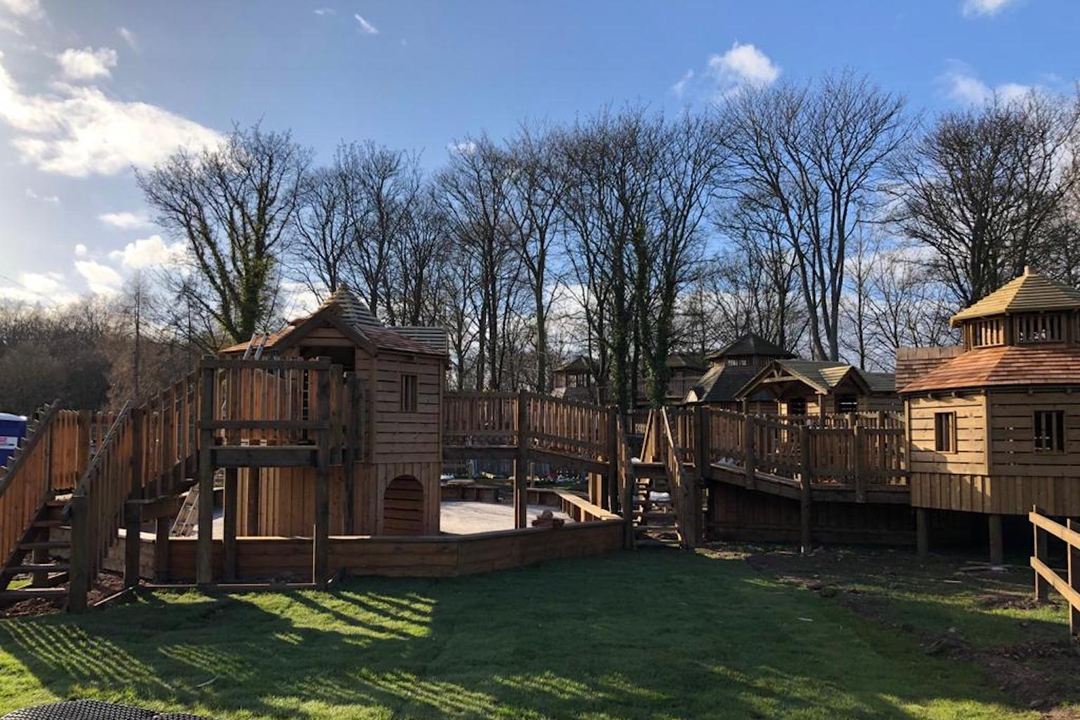 lead CAPCo Dalkeith Fort Douglas Mini Maze toddler play
