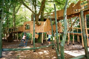 Fritton lake Adventure play build 14