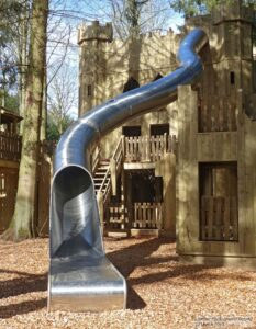 Are you brave enough to ride this slide