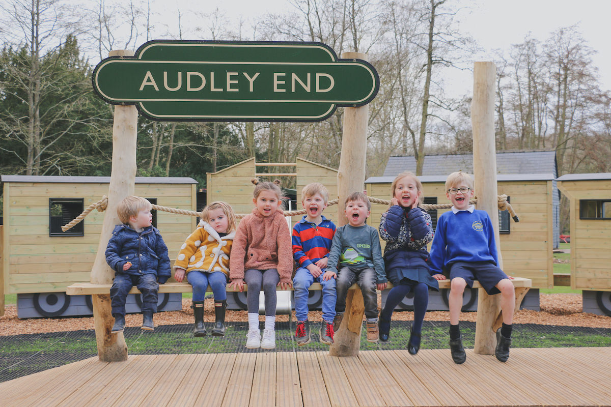 Audley End Miniature Railway 1