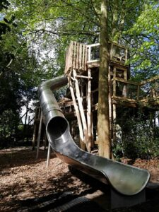 The new slide at Fritton lakes fritz Pike Play