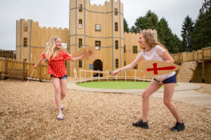 Knights Stronghold at Leeds Castle Open by CAP.Co Adventure Play