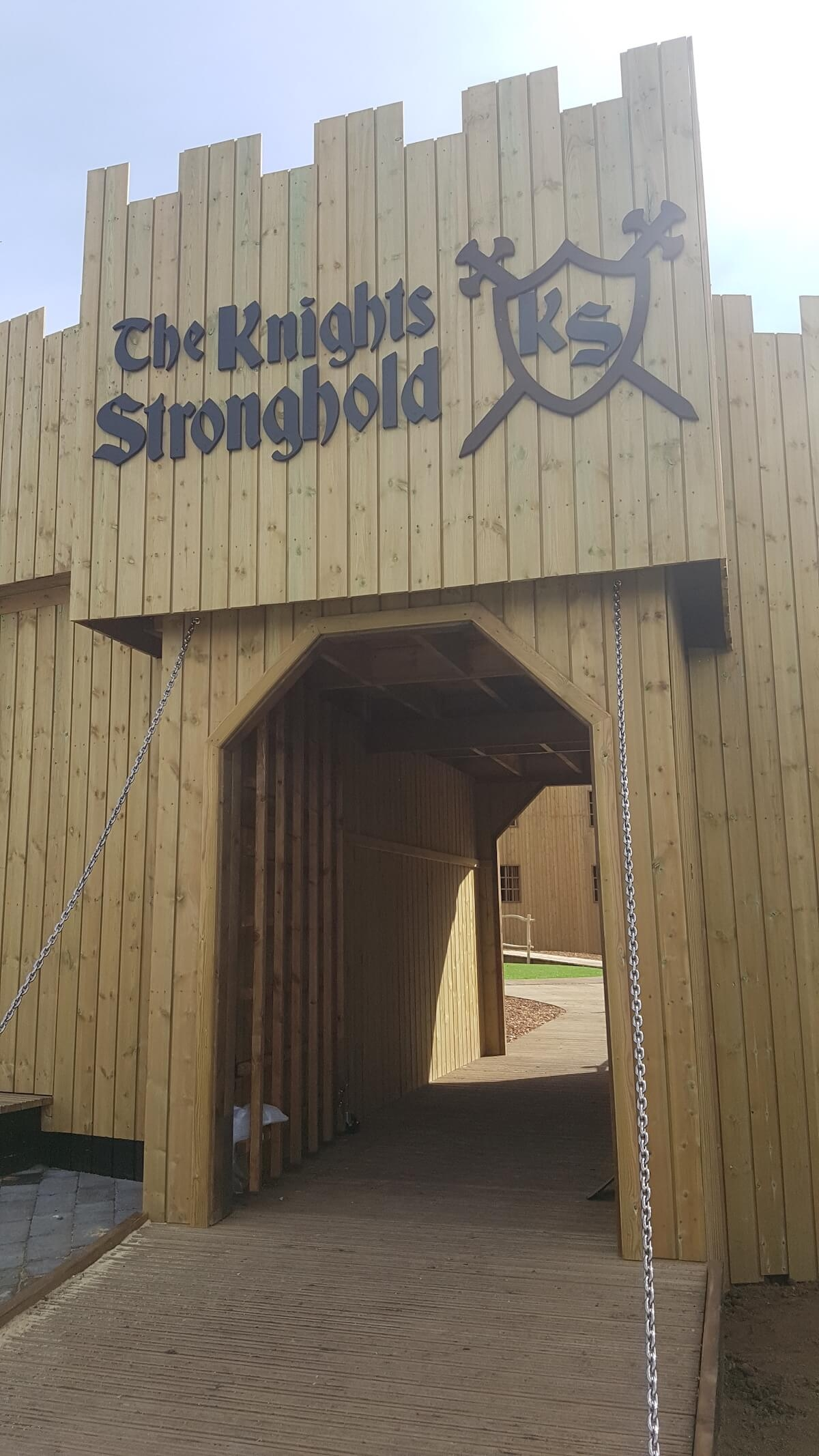 Knights Stronghold at Leeds Castle Open by CAP.Co Adventure Play Entrance