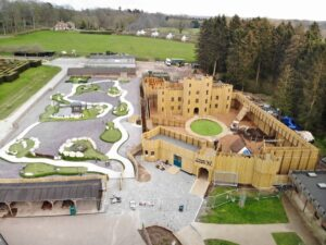 Site wide image of Knights Stronghold at Leeds Castle Open by CAP.Co Adventure Play