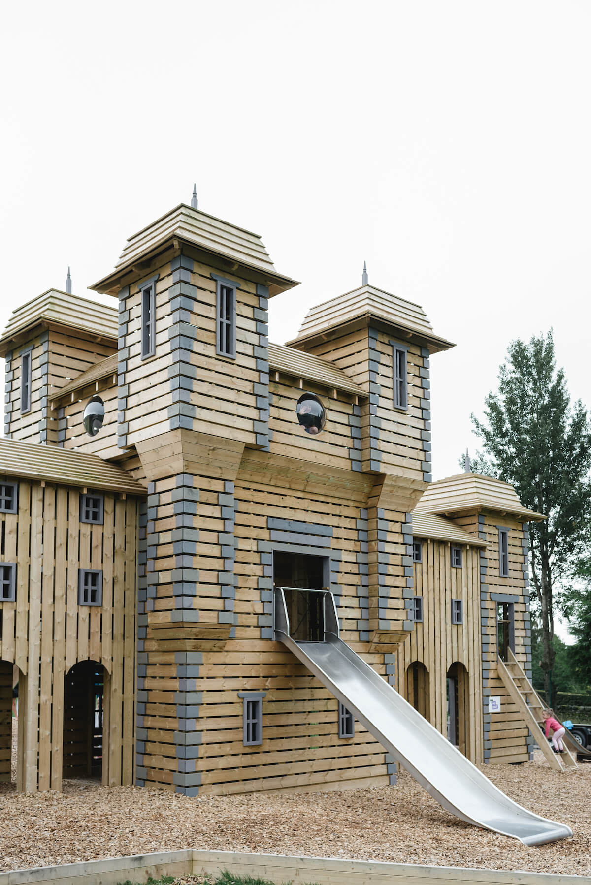 2 Smaller slide at Crieff Hydro Adventure Play CAP.Co
