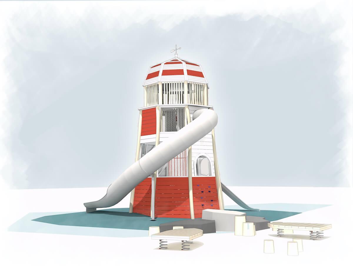 CAP.Co lighthouse model