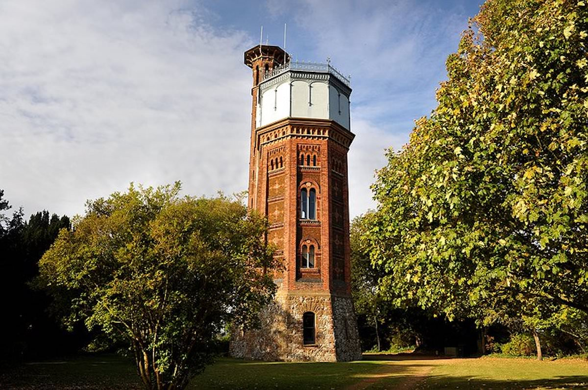 Appleton Water Tower - the inspiration for some of the CAP.Co Adventure play at Sandringham