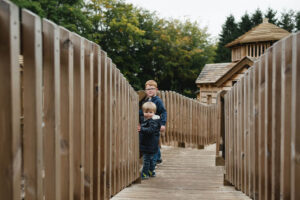 One of the toddler walk ways at Dalkeith Toddler Play